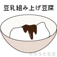 ミタゾノの組み揚げ豆腐